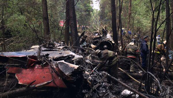Místo havárie Su-27 - Sputnik Česká republika