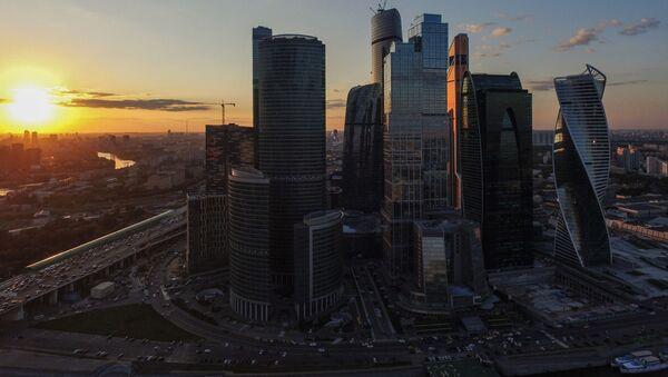 Mezinárodní obchodní centrum v Moskvě Moskva-City - Sputnik Česká republika