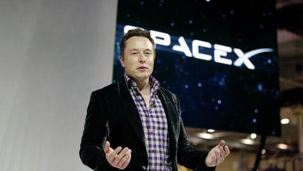 Elon Musk, šéf společnosti SpaceX - Sputnik Česká republika