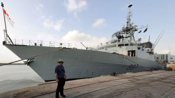 Fregata kanadského vojenského námořnictva Fredericton - Sputnik Česká republika