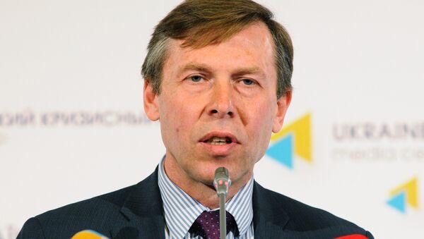 Poslanec Nejvyšší rady Sergej Sobolev - Sputnik Česká republika