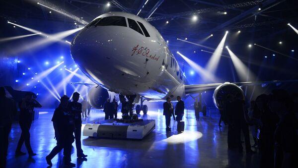 Prezentace nového dopravního letadla MS-21-300 v Irkutsku - Sputnik Česká republika