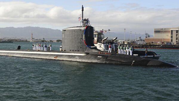 Americká víceúčelová atomová ponorka Mississippi - Sputnik Česká republika