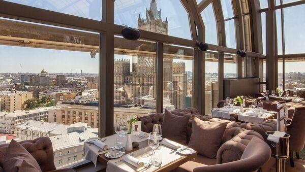 Moskevská restaurace White Rabbit - Sputnik Česká republika