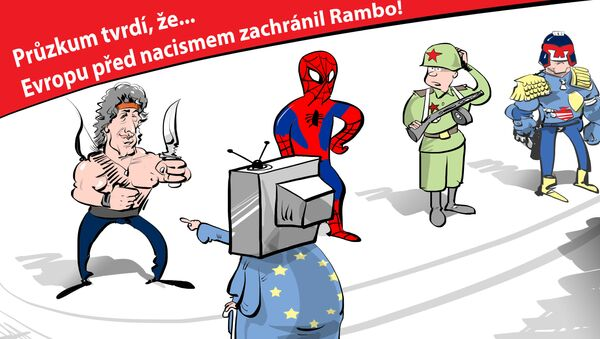 Rambo? Proč ne Spider-man? - Sputnik Česká republika