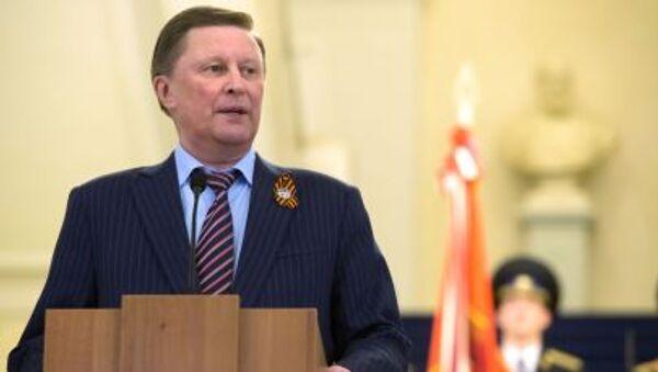 Vedoucí kanceláře ruského prezidenta Sergej Ivanov - Sputnik Česká republika