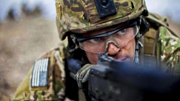 Americký voják v Afghánistánu - Sputnik Česká republika