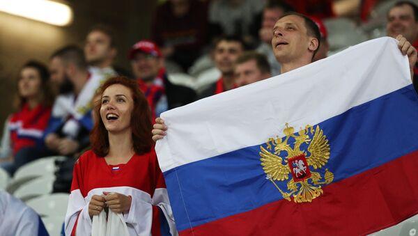 Ruští fanoušci na Euro 2016 - Sputnik Česká republika