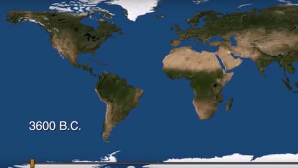 Na videu předvedli zrození a smrt měst za 6000 let - Sputnik Česká republika