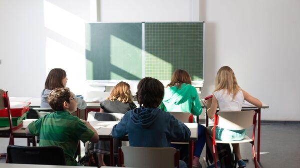 Žáci ve škole. Ilustrační foto - Sputnik Česká republika