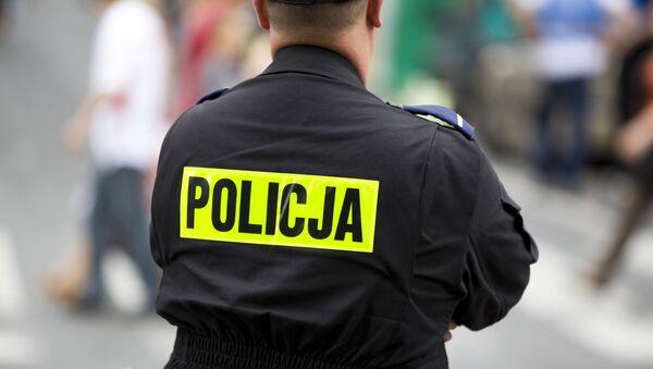 Polský policejní důstojník - Sputnik Česká republika
