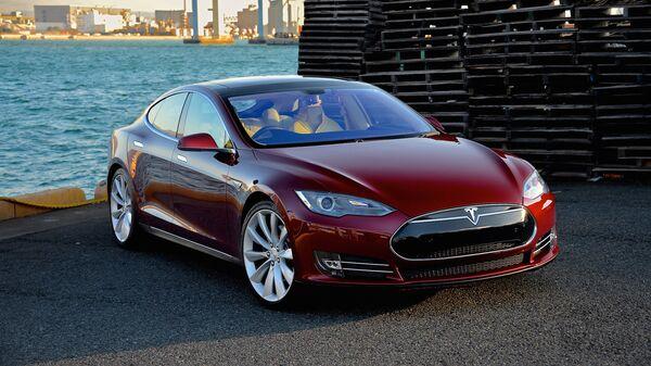 Elektromobil Tesla Model S. Ilustrační foto - Sputnik Česká republika
