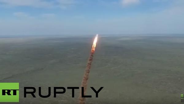 Video úspěšného testu střely ruské protiraketové obrany - Sputnik Česká republika