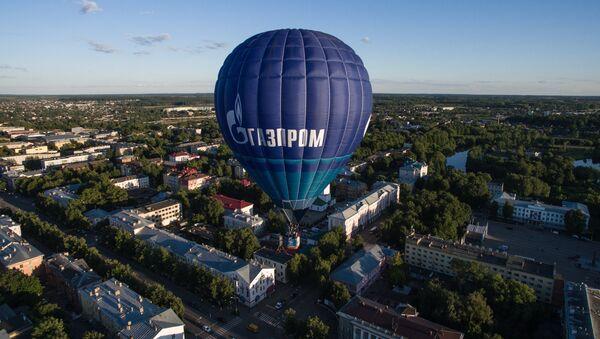 Horkovzdušný balón Gazprom - Sputnik Česká republika