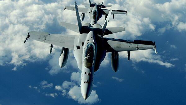 F/A-18 Hornets - Sputnik Česká republika