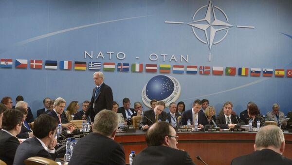 Zasedání Rady Rusko - NATO v Bruselu - Sputnik Česká republika