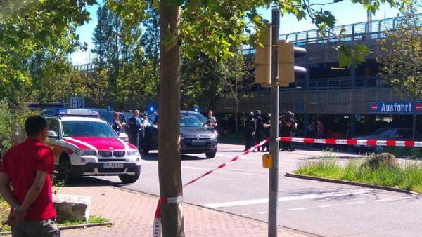 Policie zadržela střelce z německého kina - Sputnik Česká republika