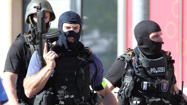 Střelba v německém kině - Sputnik Česká republika