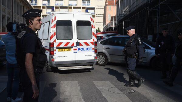 Policie v Marseille. Archivní foto - Sputnik Česká republika