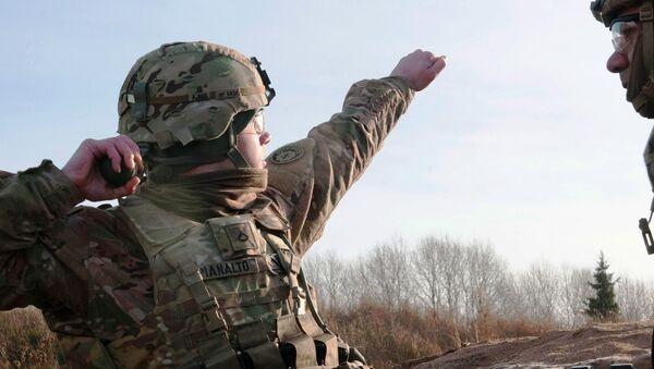 Americké vojáci v Estonsku - Sputnik Česká republika