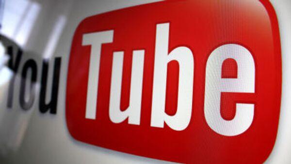 YouTube logo - Sputnik Česká republika