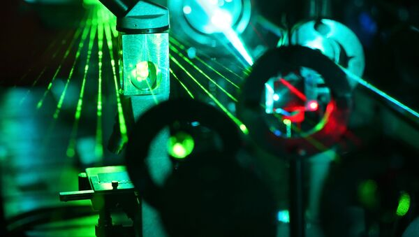 Laser v laboratoři - Sputnik Česká republika