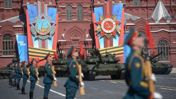 Přehlídka vítětszví v Moskvě - Sputnik Česká republika