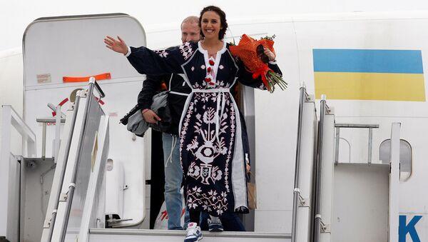 Ukrajinská zpěvačka v Kyjevě - Sputnik Česká republika