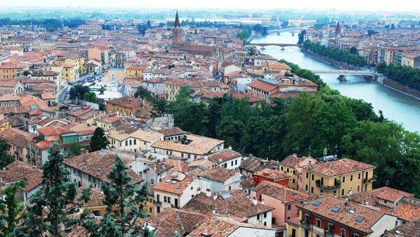 Verona, Itálie. Ilustrační foto - Sputnik Česká republika