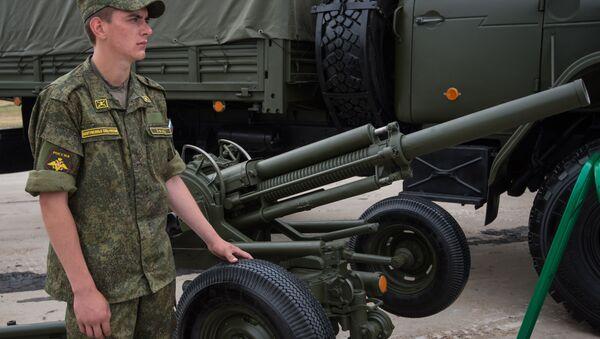 Automatický minomet Vasiljok ráže 82 mm. Ilustrační foto - Sputnik Česká republika