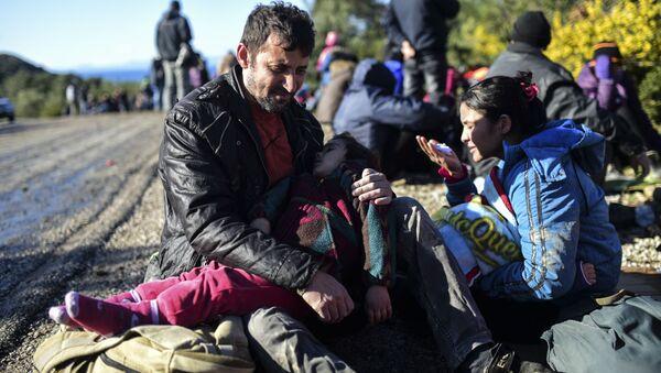 Uprchlíci na východě Turecka - Sputnik Česká republika
