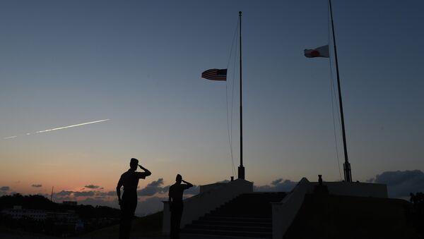 Američtí mariňáci na Okinawě - Sputnik Česká republika
