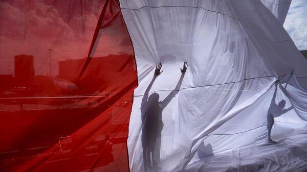 Bandera de Polonia - Sputnik Česká republika