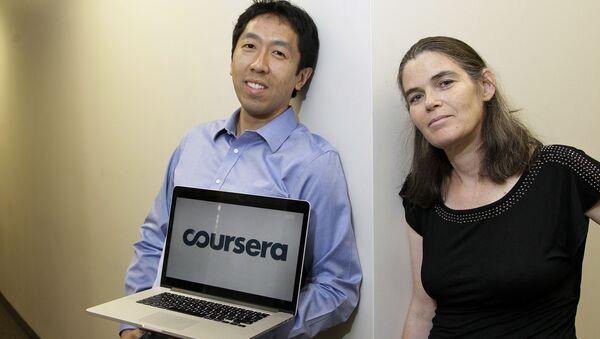Zakladatelé projektu Coursera - Sputnik Česká republika