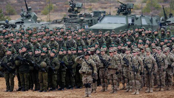 Cvičení NATO v Litvě - Sputnik Česká republika
