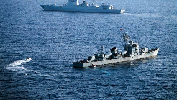 Čínské lodě v Jihočínské moři - Sputnik Česká republika