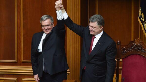 Polský a ukrajinský prezident - Sputnik Česká republika