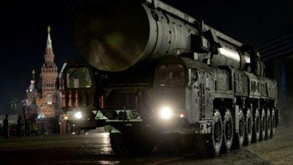 Mezikontinentální balistická raketa Jars. - Sputnik Česká republika