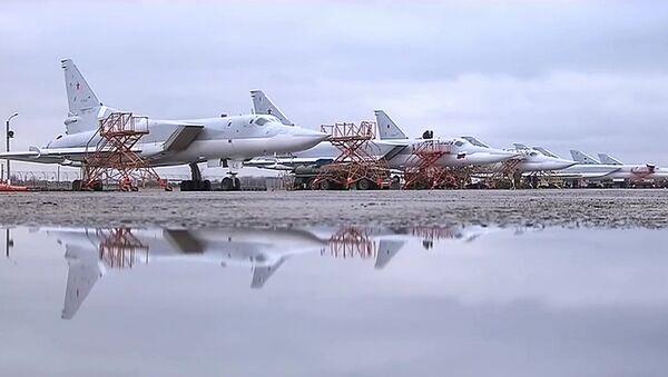 Tu-22M3 v Sýrii - Sputnik Česká republika