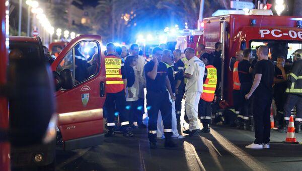 Terroristický útok v Nice. FOTO - Sputnik Česká republika