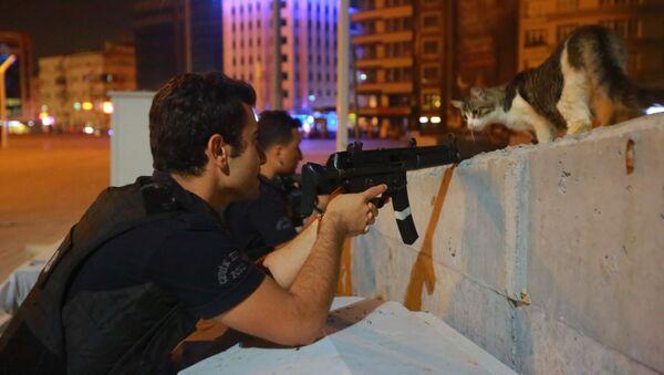 Turecká policie - Sputnik Česká republika