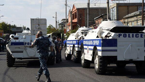 Situace v Jerevanu - Sputnik Česká republika