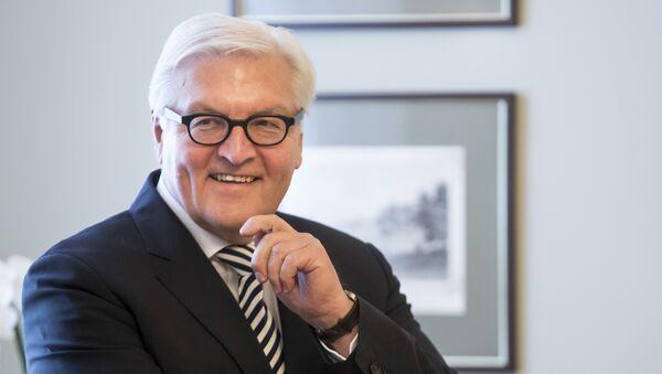 Německý ministr zahraničních věcí Frank-Walter Steinmeier - Sputnik Česká republika