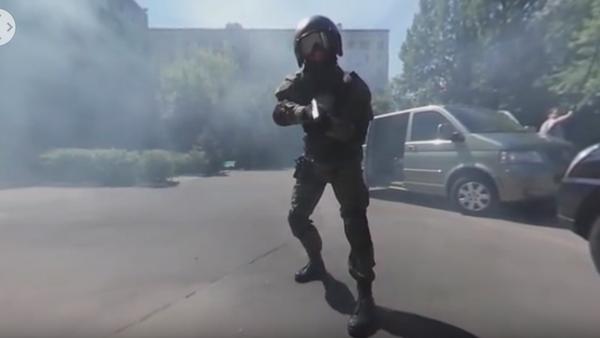 Cvičení jednotky rychlé reakce v Moskvě - Sputnik Česká republika