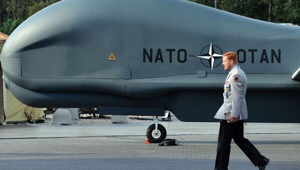 Bezpilotník NATO Global Hawk Block 40 - Sputnik Česká republika