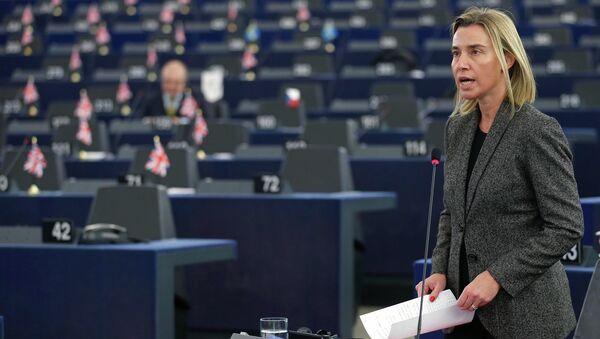Šéfka evropské diplomacie Federica Mogheriniová - Sputnik Česká republika