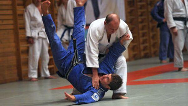 Putin provozuje sambo a judo od jedenácti let. - Sputnik Česká republika