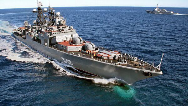 Vojenská lod´ Admiral Panteleev - Sputnik Česká republika