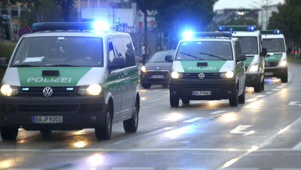 Policejní auta v Mnichově (ilustrační foto) - Sputnik Česká republika