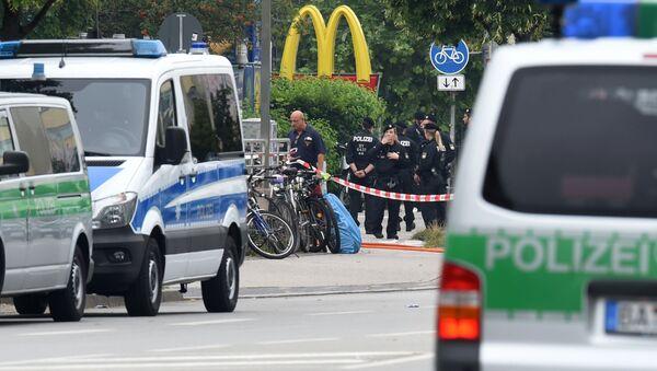 Bavorská policie - Sputnik Česká republika